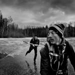 Målskyttar på hal is